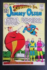 Superman's Pal Jimmy Olsen #59 DC Comics Lower staple loose VG+ 4.5 20% OFF!