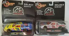 Dale Earnhardt 25th Anniversary Lot of 2 Select Series 1995 1999 die cast cars