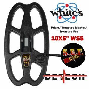 """DETECH 10""""X 5"""" SEF WSS Coil For Whites Prizm, Treasure Master, Treasure Pro"""