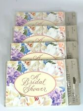 Hallmark Bridal Shower Invitations 4 Packs of 8 Invitations and Envelopes New