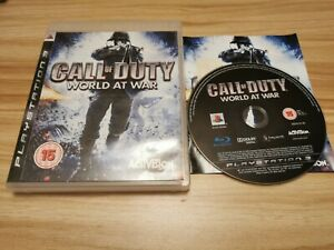 Call of Duty World at War For Sony PlayStation 3 PS3 Complete - See Offer!