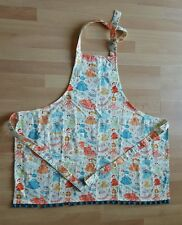 "Kid's Apron ""Little Girls & Dresses"" W/ Pocket"