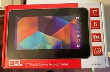 "EGL White 7"" Touch Screen Android Tablet"