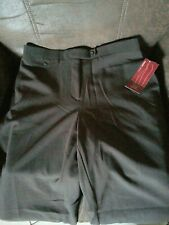 NWT JM COLLECTION womens pants Chocolate BROWN - Size 10