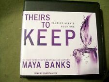 Theirs to Keep (Tangled Hearts Book 1) by Maya Banks (2013, 6 CD, Unabridged)