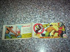 TEX STRISCIA SERIE NEVADA N.4 ORIGINALE 1957 AUDACE PERFETTA TIPO ZAGOR RANGER