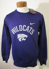 NWT Nike Kansas State Wildcats Therma-Fit Circuit Crew Sweatshirt S New Orchid