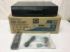 Open Box Denon DBP2010 HDMI Blu-ray/DVD/CD Player Black DBP-2010CI + Remote
