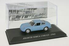 1:43 ABARTH Simca 1300 GT-Blu chiaro-anno di costruzione 1962