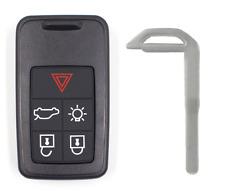 Remote Car Key Fob 433Mhz ID46 5 Button for Volvo S60 S80 XC60 FCC KR55WK49266