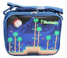 Terraria Navy Blue Colored Insulated Kids Lunch Bag - Licensed Product