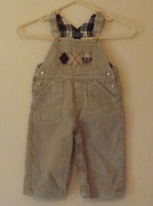 The Children's Place, Boys beige corduroy dungarees, age 18 months