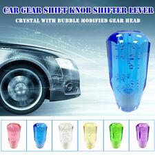 Universal Crystal Car Modified Gear Shift Knob Shifter Lever Manual Transmission
