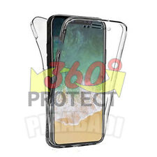 COQUE ETUI HOUSSE 360° CLEAR TPU GEL SILICONE TACTILE IPHONE X 10