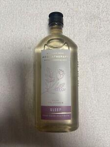 Bath & Body Works Aromatherapy SLEEP ROSE + LAVENDER Body Wash & Foam Bath 10oz