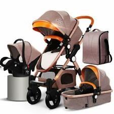 infant Car Seat Baby Stroller Bassinet Carriage 4 in 1 for newborn, light weight