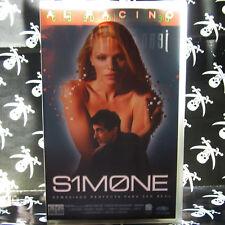 SIMONE (Andrew Niccol) VHS . Al Pacino, Catherine Keener, Evan Rachel Wood, Prui