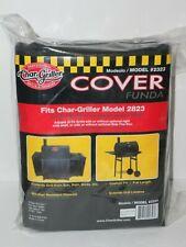 Char-Griller, Wrangler copertura griglia nero griglia a carbone Fumatore COVER 2823 2123