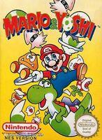 Nintendo NES Spiel - Mario & Yoshi PAL-B mit OVP sehr guter Zustand