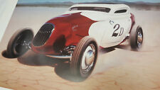 """Kenny Youngblood 22""""X28"""" poster art of Pierson Brothers 34 Ford 3 window coupe"""