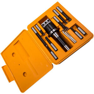 "Boring Head Taper 1/2"" R8 Shank Bar Holder Wrench Lathe Turning Milling Tool"