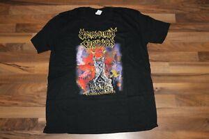 Malevolent Creation Shirt XL Morbid Angel Asphyx Death Metal