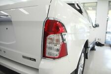 Auto Clover Chrome Tail Light Surround for Ssangyong Korando Sport/Musso 2013-18