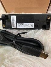 Magtek Mini USB Credit Card Reader Dual Track (Black) 21040110 No Velcro