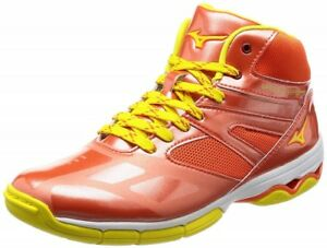Mizuno Dance Fitness Shoes WAVE DIVERSE DE K1GF1774 Orange Free shipping