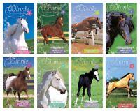 NEW Set of 8 Books Winnie the Horse Gentler Series Dandi Daley Mackall Boxed Set