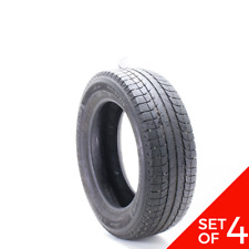 Set Of 4 Used 23560r18 Michelin Latitude X Ice Xi2 107t 7 7532 Fits 23560r18