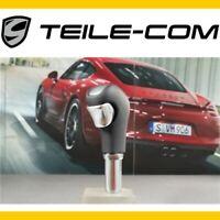 -40% Porsche Cayenne E2/958 Tiptronic Schaltknopf Leder Schwarz / Gearshift knob