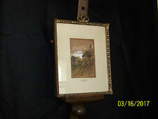 """""""Rare"""" Alfred W.Cooper Listed Artist c1863 Original Painting Signed & Dated"""