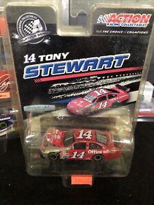 TONY STEWART 2009 #14 Old Spice Chevy Impala SS NASCAR DIECAST RACE CAR 1/64