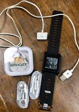 Apple iPod Mini 6th Generation & Wrist Strap - 8GB 3 headphones