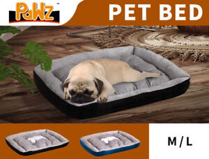 PaWz Pet Bed Dog Beds Bedding Mat Comfy Cushion Mattress Soft Pads Mats M/L