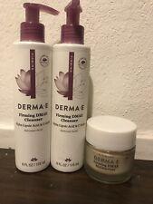 Derma E Firming DMAE Moisturizer with Alpha Lipoic and C - Ester NIB 2 oz