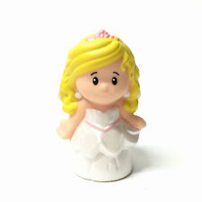 Little People Blonde Girl Sarah Wedding Bride Fisher-Price Figure Cute Toys Gift