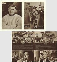 THE BIRDS Original RARE EXYU Movie Program 1963 ALFRED HITCHCOCK TIPPI HEDREN