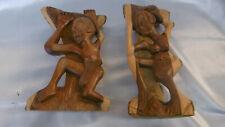 sculptures sud africaine en bois