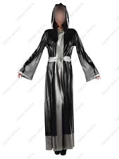 130 Latex Catsuit Rubber Gummi Nun cross Long Robes togas gowns customized 0.4mm
