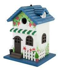 Happy Home Outdoor Birdhouse Cute and Quaint Decor for your Bird Friends