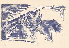 Georg Baselitz Untitled Postcard used VGC