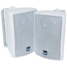 """Dual Lu47Pw 4"""" 3-Way Indoor/Outdoor Speakers (White) Dullu47Pw"""