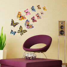 Glow In The Dark Butterfly Removable PVC Wall Sticker Home Decor Nursery Mural