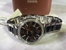 Fossil Women's ES3918 Stainless Steel Watch with Marbled Resin Bracelet