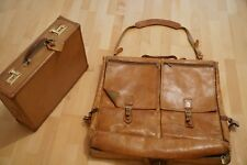 Original Hartmann Luggage Kleidersack Leder Belting Luxus Vintage USA Samsonite
