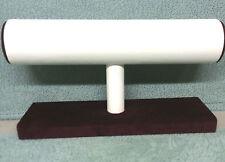 Único nivel Brazalete Pulsera Unidad Stand Joyas Pantallas (burgundy/ivory)