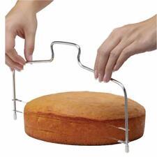 Drahtschneider Kuchen Schneider Brot schneiden Leveller dekorieren Divider K8A5