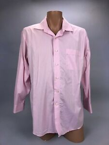Tommy Bahama Pink Striped Long Sleeve Button Down Shirt  Men's Sz 16 1/2 32-33